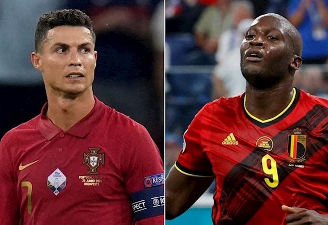 Euro 2021: Đại chiến Bỉ – Bồ Đào Nha, Lukaku khiêu chiến Ronaldo, tin CR7 phải nể mình.