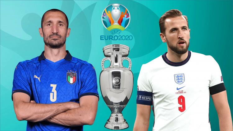 Euro 2021: Italia đại chiến ĐT Anh.