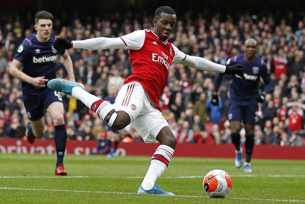 Crystal Palace chiêu mộ tiền đạo Eddie Nketiah