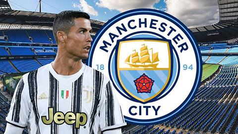 Ronaldo có động thái bất ngờ muốn nhập Man City