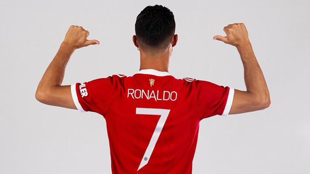 Manchester United công bố số áo của Cristiano Ronaldo